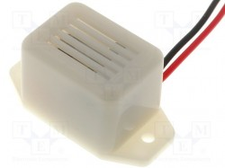 Sound transducer: elektromagnetic alarm; 25mA; -40÷70°C; 400Hz