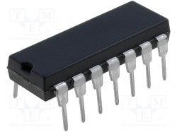 Comparator; 4us; 1.6÷5.5V; THT; DIP14; Comparators:4