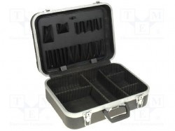 Suitcase: tool case; 460x330x150mm; ABS