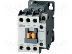 Contactor:3-pole; Auxiliary contacts: NO + NC; 230VAC; 12A; NO x3