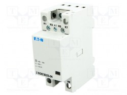 Contactor:4-pole installation; 230VAC; 25A; NC x4; DIN