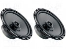 Car loudspeakers; two-way; 165mm; 60W; 70÷17000Hz; 2 loudspeakers