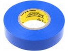Tape: electrical insulating; W:19mm; L:20m; D:0.19mm; 380%; 49V/mm