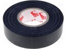 Tape: electrical insulating; W:19mm; L:25m; D:0.13mm; 180%; 25N