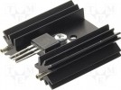 Heatsink: extruded; SOT32,TO220,TO3P; black; L:38.1mm; 11K/W