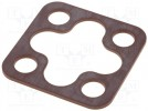 Flat gasket; Application: GSA; NBR