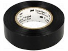 Tape: electrical insulating; W:19mm; L:20m; D:0.13mm; 125%; 1TΩm