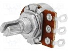 Potentiometer: shaft; single turn; 100kΩ; 63mW; ±20%; on cable; 6mm