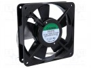 Fan: AC; axial; 230VAC; 120x120x25mm; 78(±7%)m3/h; 35dBA; 1600rpm