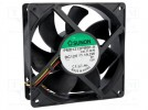 Fan: DC; axial; 12VDC; 120x120x38mm; 323m3/h; 54dBA; ball bearing