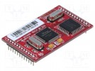 Module: Ethernet; Interface: UART; 3.3VDC; PIN:24(1x12,1x12)