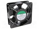 Fan: AC; axial; 230VAC; 120x120x38mm; 165(±10%)m3/h; 45dBA; 2850rpm