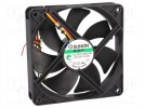 Fan: DC; axial; 12VDC; 120x120x25mm; 183.83m3/h; 44.5dBA; Vapo