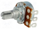 Potentiometer: shaft; single turn; 50kΩ; 63mW; ±20%; on cable; 6mm