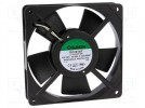 Fan: AC; axial; 230VAC; 120x120x25mm; 109(±7%)m3/h; 43dBA; 2000rpm