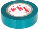 Tape: electrical insulating; W:15mm; L:10m; D:0.13mm; 180%; 25N