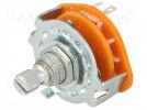 Switch: rotary; 3-position; 0.3A/125VAC; Poles number:1; 30°