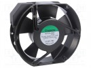 Fan: AC; axial; 230VAC; 171x151x51mm; 344(±10%)m3/h; 51dBA; 2800rpm
