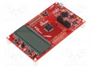 Dev.kit: TI MSP430; USB B micro,pin strips; Comp: MSP430FR4133