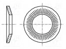 Washer; conical; M3; D=8mm; h=1mm; A2 stainless steel; BN: 2332